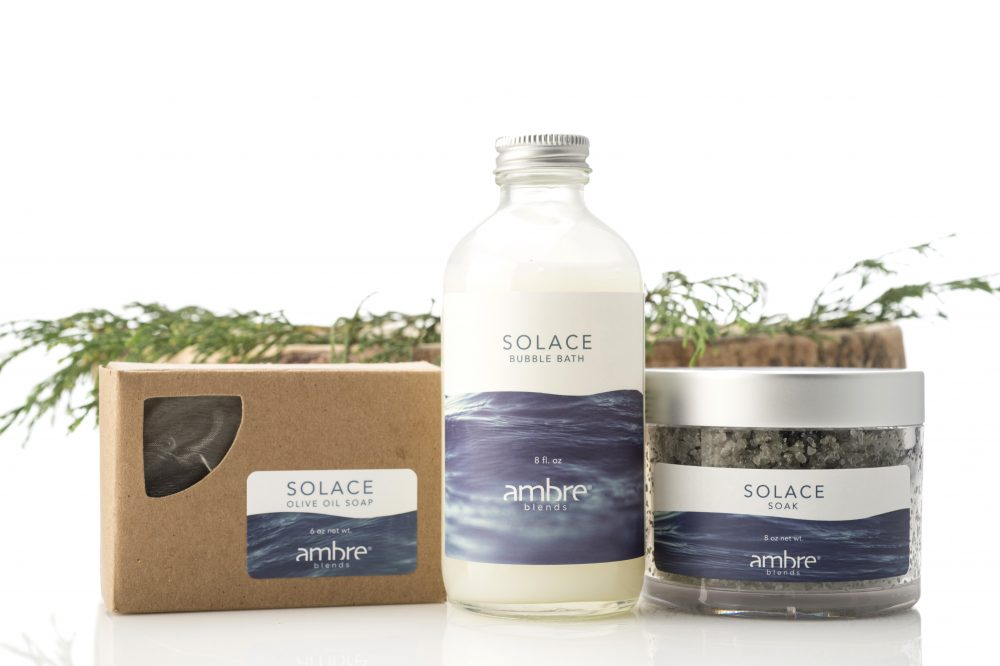 Ambre Blends Solace Bath Set